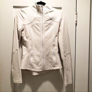 Lululemon Forme Jacket Dune/White Gingham